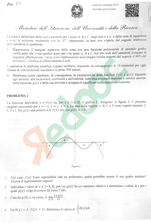 tracce-seconda-prova-matematica-liceo-scientifico-maturita-2015-2