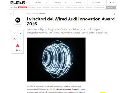 wired audi innovation award 2016