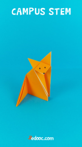 Origami volpe