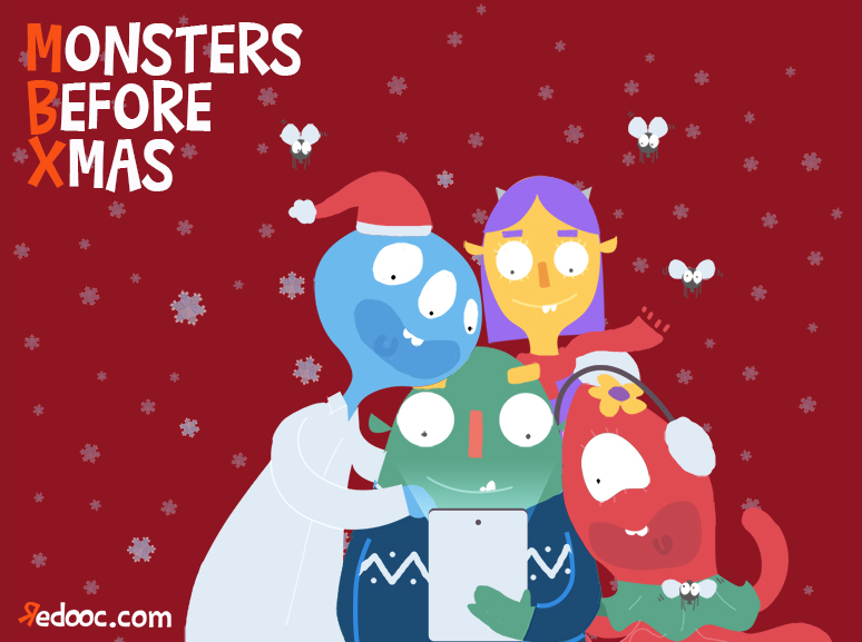 Monsters Before Xmas: la magia del Natale sotto forma di app