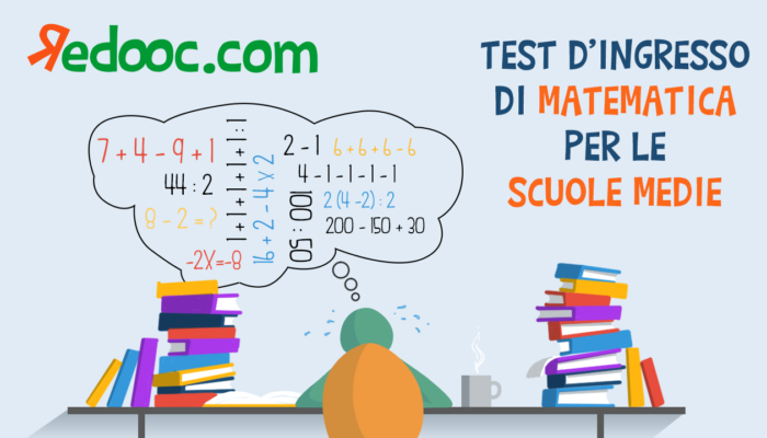 Test d'ingresso prima media matematica