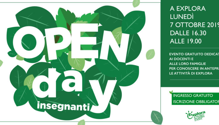 Open day Explora 2019